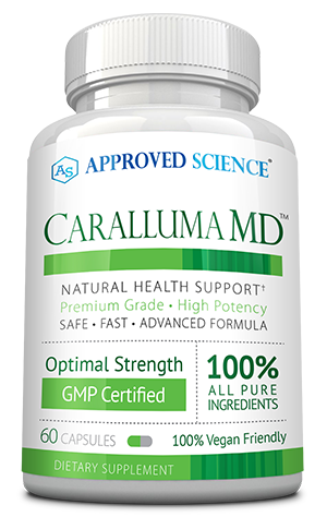 Caralluma MD ingredients bottle